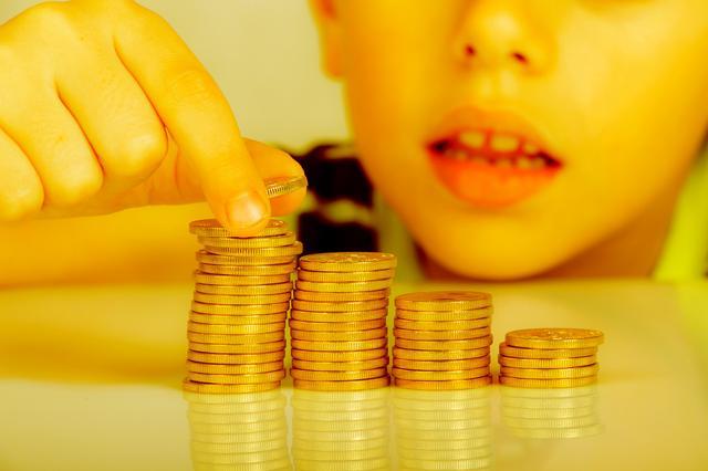 children and riches
